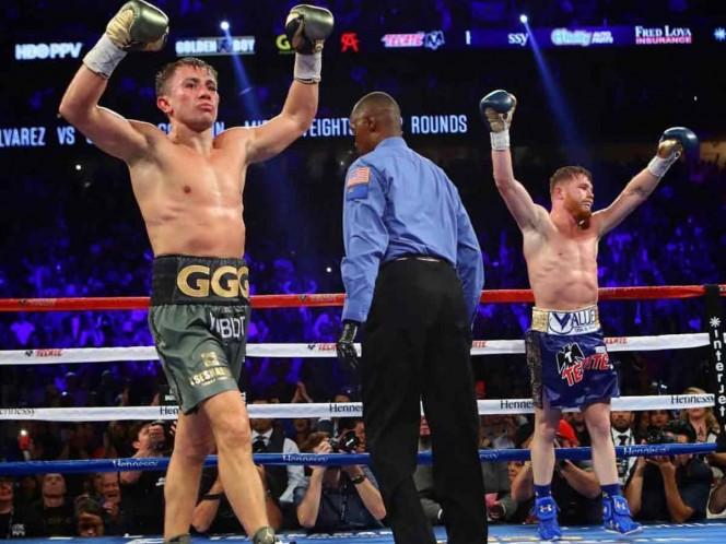 Habrá 'Canelo' contra Golovkin 3; confirma De La Hoya
