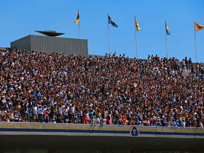 Pumas incrementa precio de boletos ante Cruz Azul