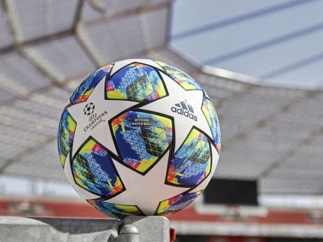 Con este balón se jugará la Champions