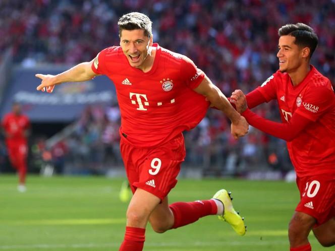 Lewandowski, a dos goles de hacer historia en la Bundesliga