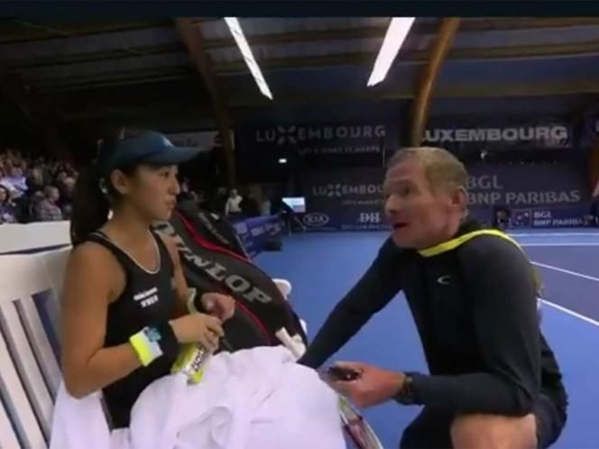 Repudiable comentario de un entrenador de tenis