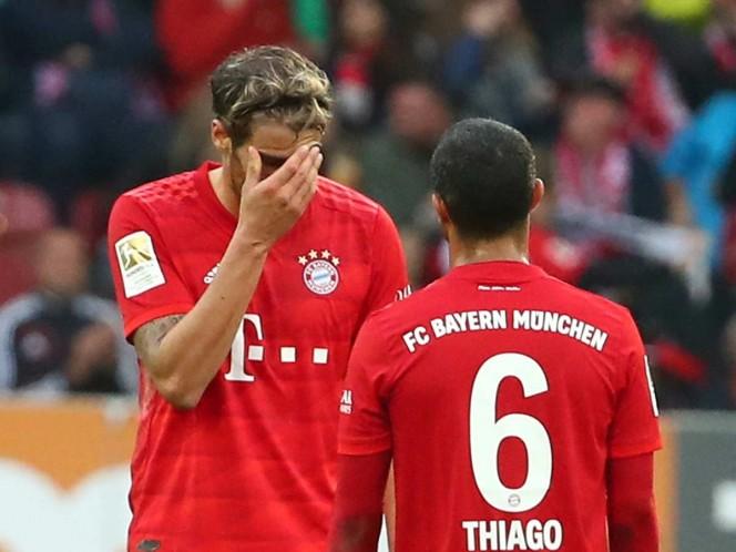 Bayern no pasa del empate ante el Augsburgo