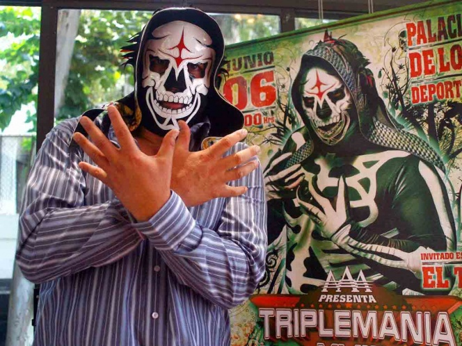 Presidente de Triple A revela estado de salud de La Parka