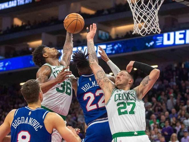 Sacramento termina con buena inercia de Celtics