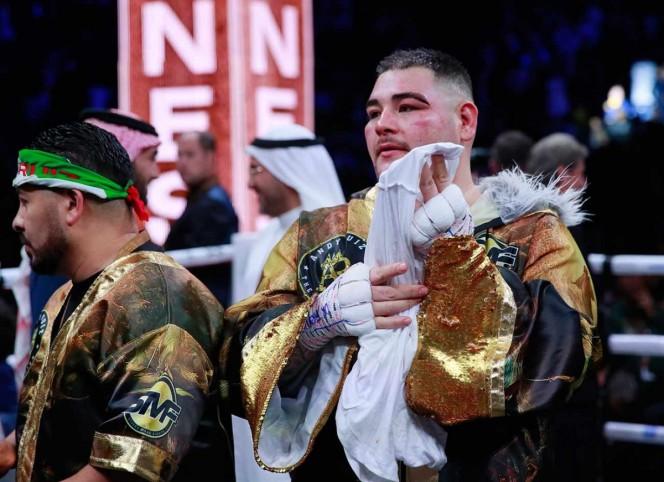 Andy Ruiz promete volver a ser campeón del mundo
