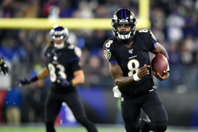 Lamar Jackson hace historia y rompe récord en la NFL