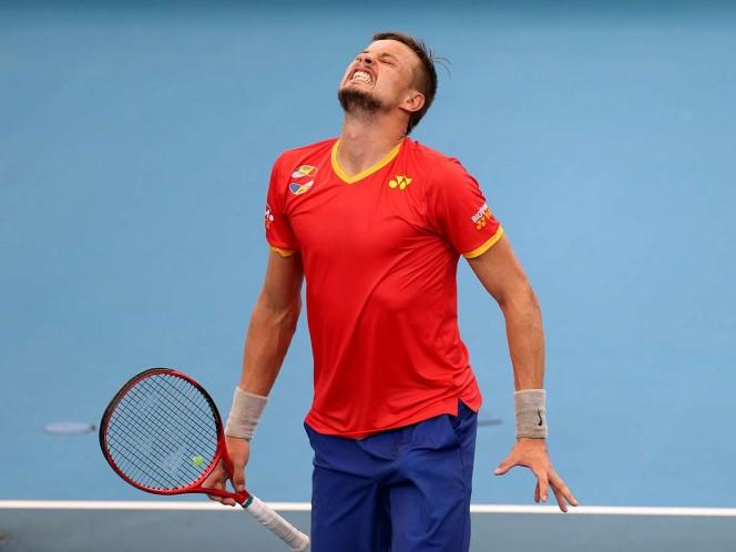 La ATP pide perdón a Moldavia tras equivocarse con el himno