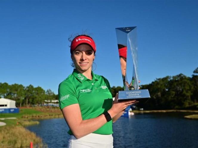Gaby López se proclama campeona en la LPGA por segunda ocasión en su carrera luego de un largo duelo de playoff contra la japonesa Nasa Hataoka