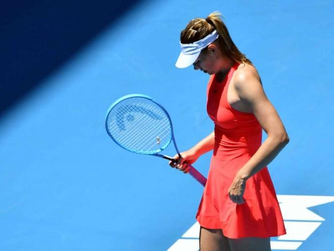 El futuro de Sharapova es una incógnita tras derrota en Australia