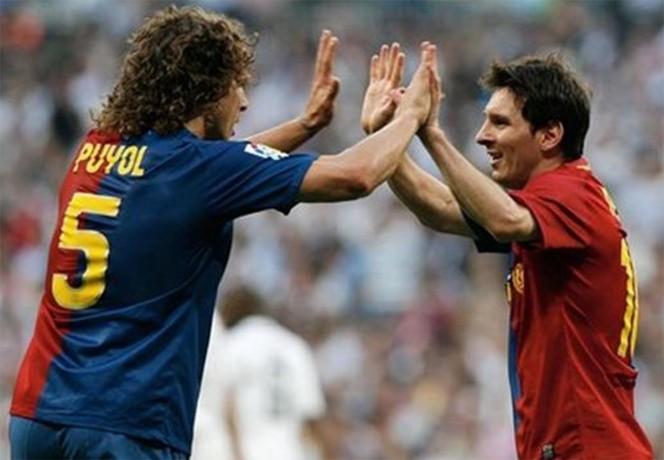 Puyol: 'Messi se cuida como para jugar hasta los 38'