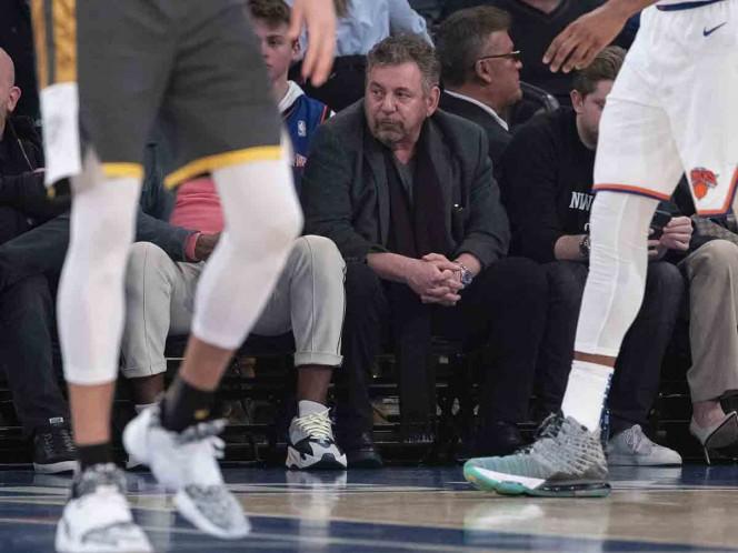 Dolan, dueño de Knicks y Rangers, positivo por coronavirus