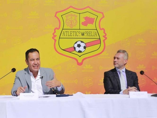 José Luis Higuera celebró con una comida surgimiento del equipo — Atlético Morelia