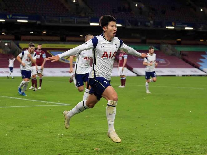 Heung-Min Son se colocó al frente de la tabla de anotadores con ocho goles. (Reuters)