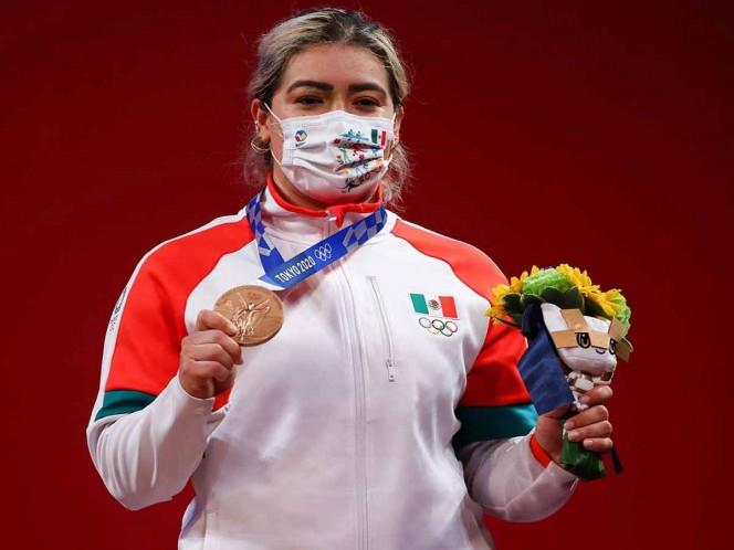 Aremi Fuentes revela que temió perder su medalla de bronce en la última ronda