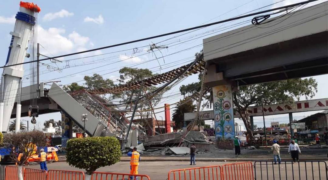 Sube a 25 cifra de muertos por desplome en Línea 12 del Metro