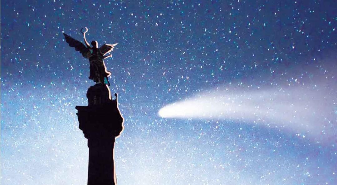 El cometa Halley, cielo en la ópera; Alfonso Molina crea pieza