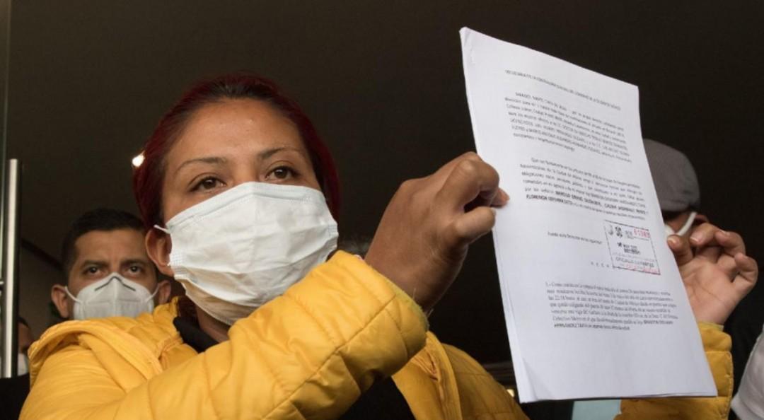 Mamá de Brandon Giovanni pide destitución de funcionarios por desplome de L12