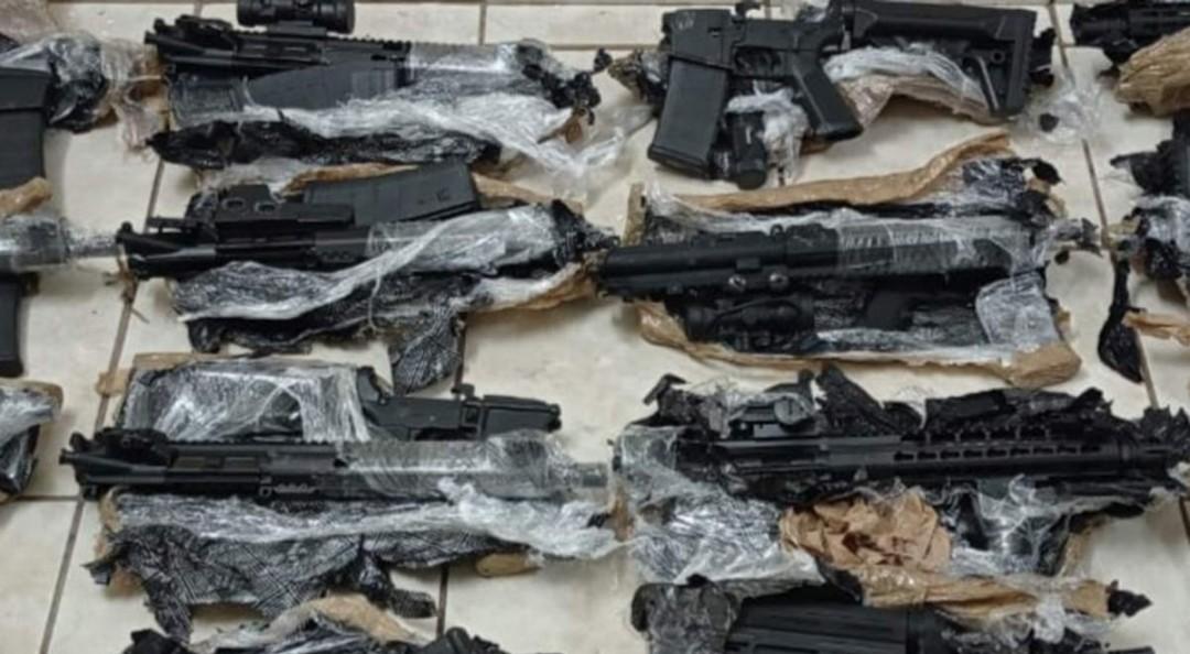 Incautan 15 armas de alto poder que tenían como destino Los Mochis, Sinaloa