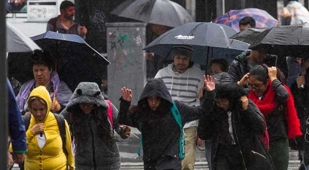 Más lluvias se esperan para hoy en CDMX y Estado de México