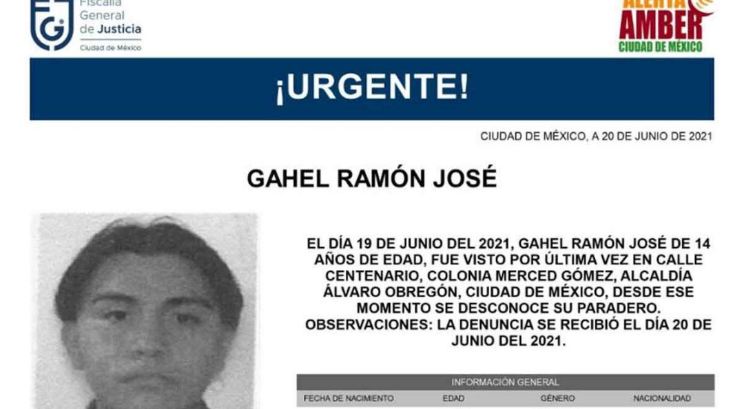 Localizan a Gahel Ramón, estudiante oaxaqueño que desapareció en la CDMX