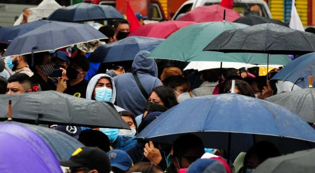 Llueve en 5 alcaldías de CDMX; prevén tormentas y chubascos
