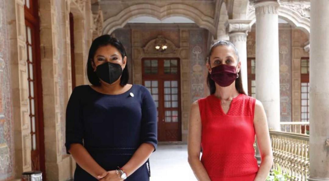 Destaca González 'buenos acuerdos' con Sheinbaum para Tlalpan