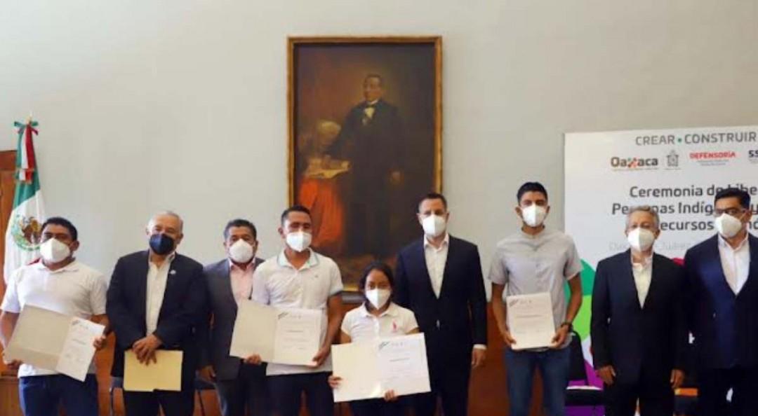 Liberan a 156 reos en Oaxaca previo a Grito de Independencia