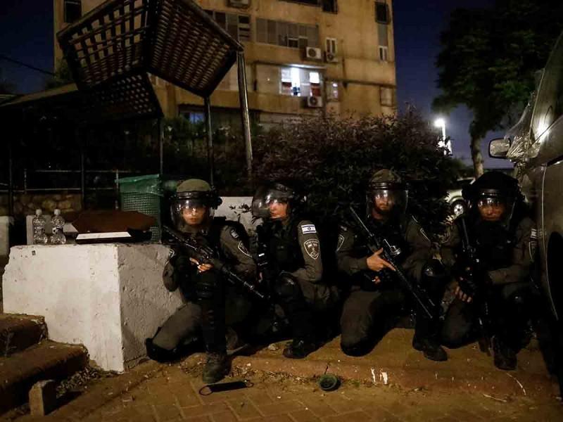 Soldados israelíes entran a la Franja de Gaza; se desatan combates