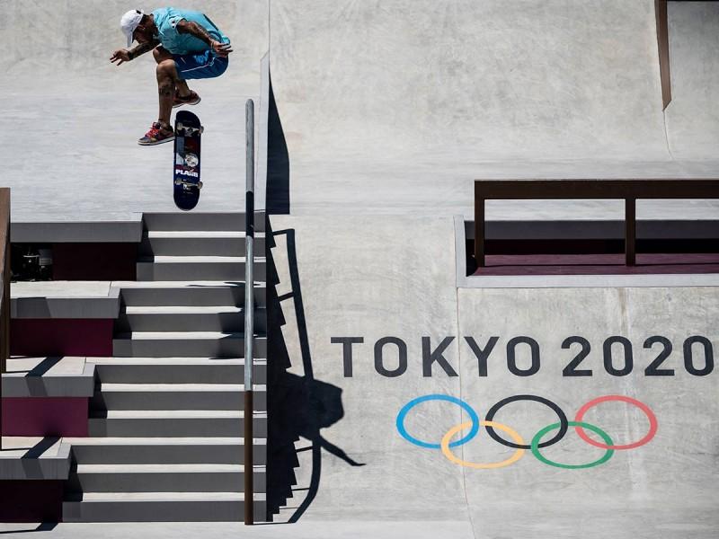 De la calle a los Olímpicos, 'skate' roba la atención en Tokio