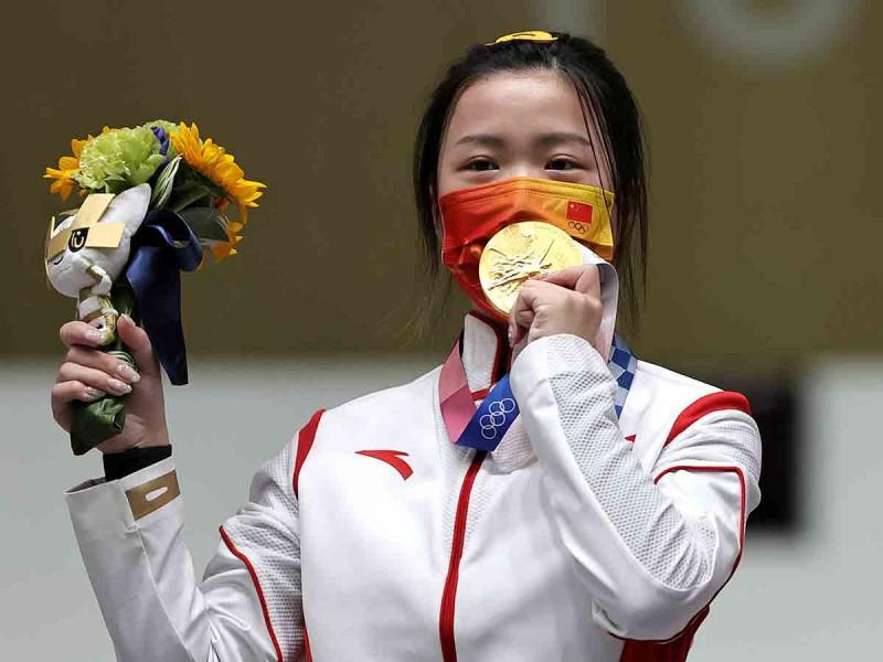 Primera medalla de oro y récord impuesto en Tokio 2020