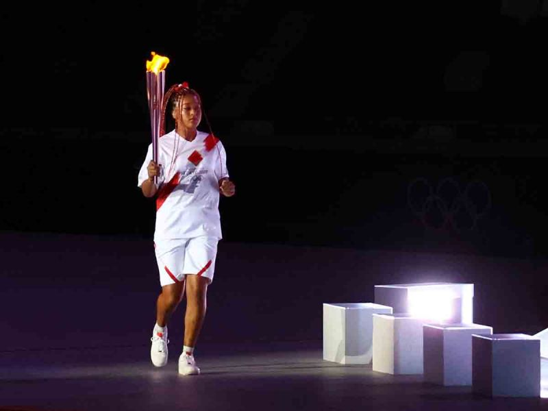Naomi Osaka hizo historia en la inauguración de Tokio 2020