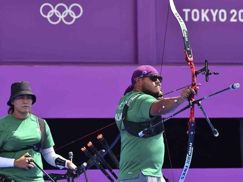 México se acerca a su primera medalla en tiro con arco