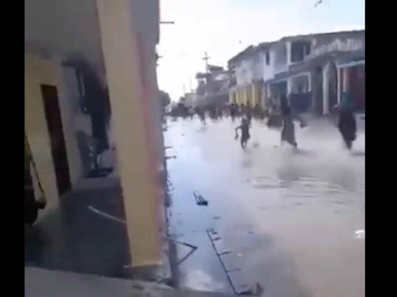 Así regresa el mar a Haití tras el sismo