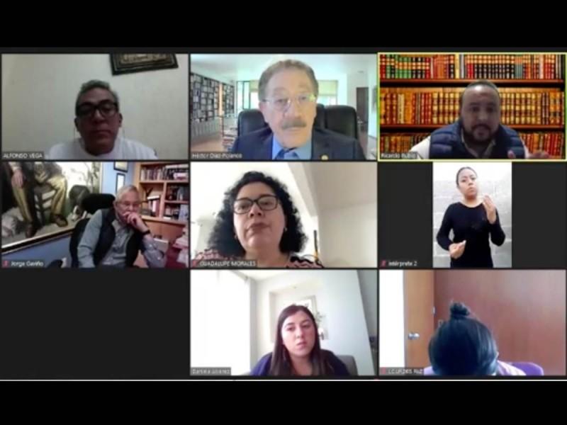 Oposición acusa a Morena de usar 'supuestos contagios' para evitar informe presencial de Sheinbaum