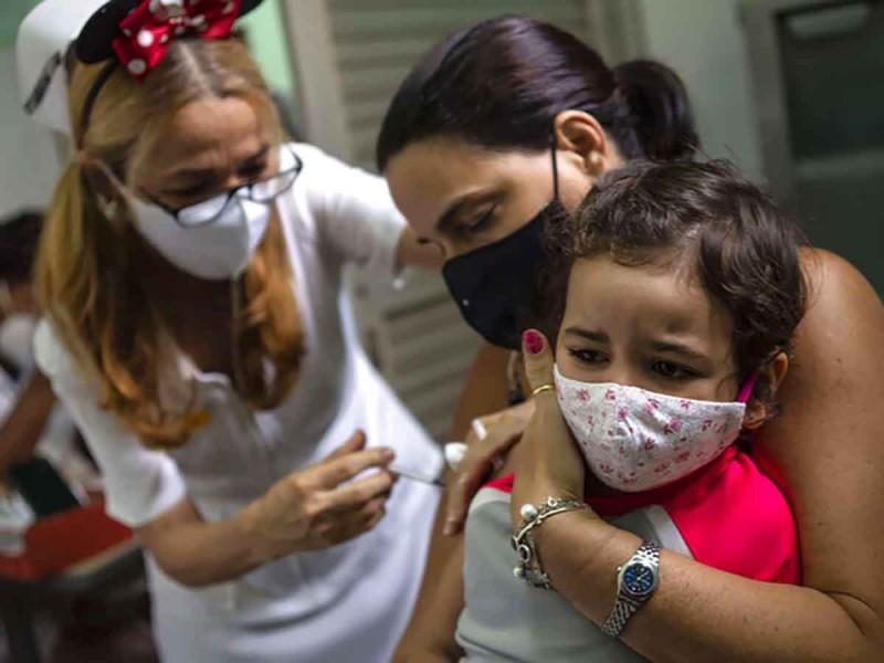 Cuba inicia vacunación covid para niños de dos años y más