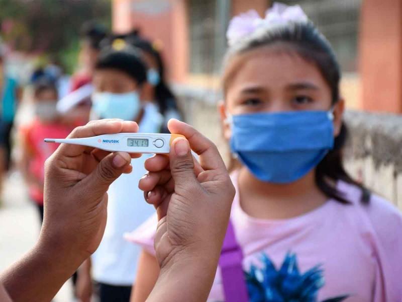 Tras regreso a clases, van 56 contagios de covid en escuelas de Querétaro