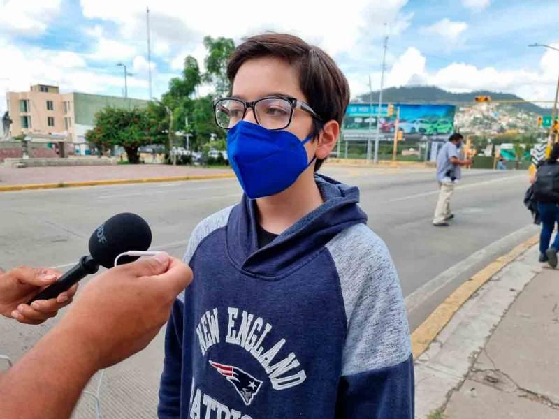 Vacunan a menores que ganaron amparo en Oaxaca