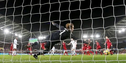 Swansea City vs Liverpool, Liga Premier 2018 — Partido en vivo