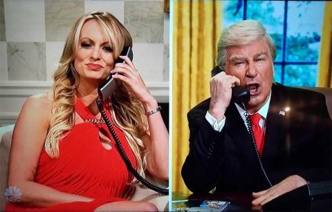 La actriz porno Stormy Daniels le envió un encendido mensaje al presidente de Estados Unidos, Donald Trump.