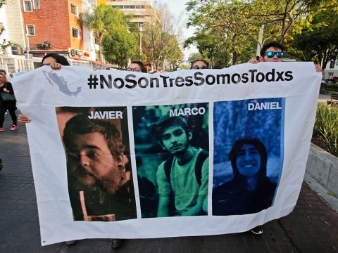 Navarrete Prida confirma detención de probable homicida de estudiantes de cine