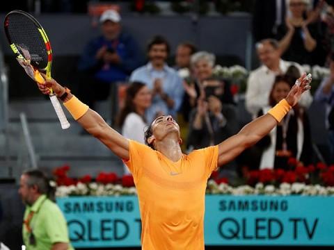 Rafael Nadal - Mutua Madrid Open - John McEnroe
