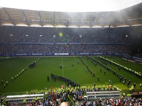 Hamburgo desciende - Bundesliga
