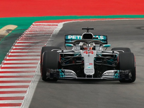Lewis Hamilton - fórmula uno - gran premio españa