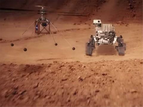 Helicóptero de la NASA será enviado a Marte