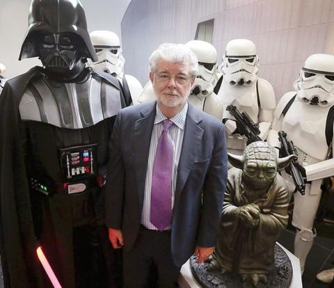 Un día como hoy: George Lucas, 74 años del 'jedi' creador de 'Star Wars'