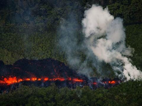 Continúa la erupción de lava en múltiples puntos del Kilauea en Hawaii. (Foto: EFE)