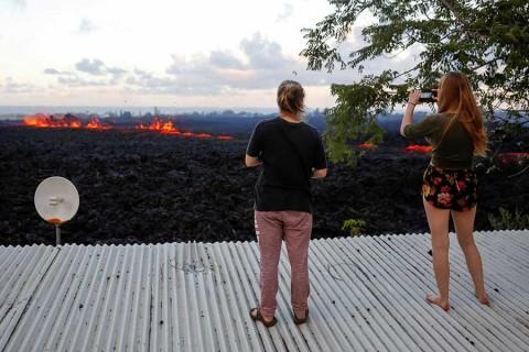Erupción del Kilauea 'chamusca' el turismo en Hawai