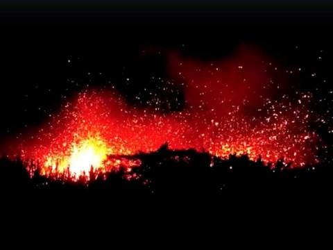 Alertan de 'inminente' poderosa erupción del volcán Kilauea en Hawaii  (Foto Reuters)