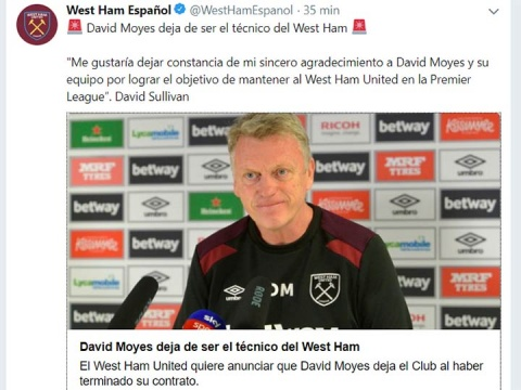 David Moyes - West Ham - Javier Chicharito Hernández