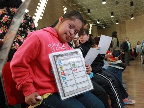 INE, Voto, Personas con discapacidad, Elecciones 2018, 1 de julio, Registro de votantes con discapacidad